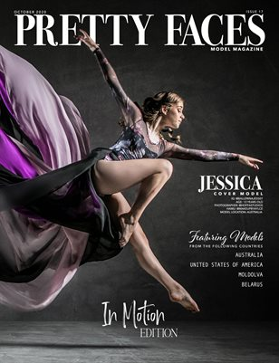 Pretty Faces Model Magazine | In Motion - October 2020 - Issue 17