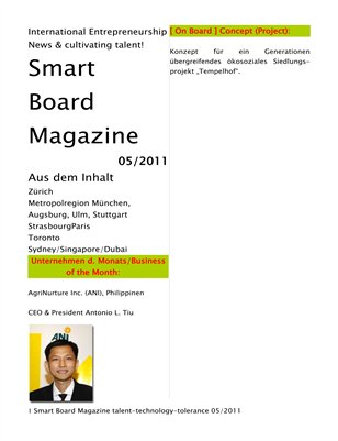 SmART Board Magazine Urban & Country [ SmARTie ] [ HongkongSantiagodeChileBuenosAires Edition ]