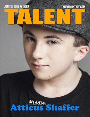 Talent Monthly Magazine June 15, 2015 #15062