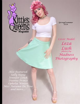 Kittie's Queens Magazine-Spring/Summer 2014-Leza Lush Cover