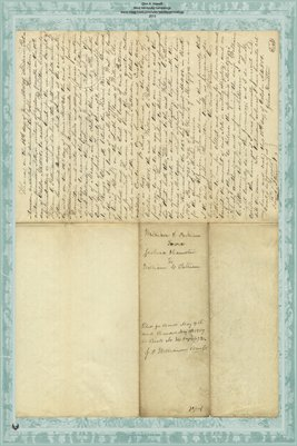 1859 Deed, Joshua Hamilton to William C. Patterson, Miami County, Ohio