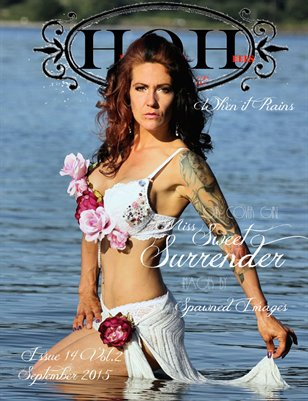Hell on Heels Magazine September 2015 Issue 14 Vol. 2 When it Rains