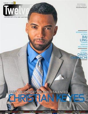 TWELVETEN MAGAZINE MAY/JUNE 2016 VOL.1#4 - CHRISTIAN KEYES (1 OF 3 COVERS)