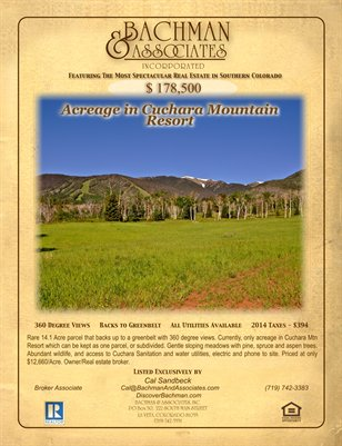 Acreage in Cuchara Mountain Resort 2 page