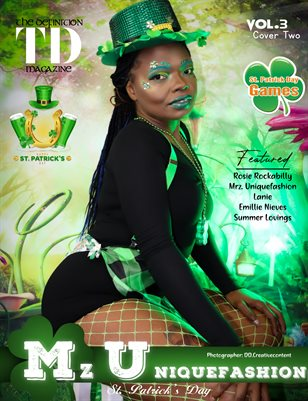 The Definition: Mrz. Uniquefashion St. Patrick Day- Vol3 cover2