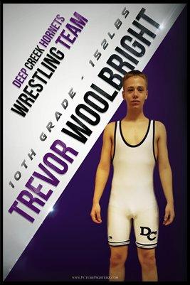 Trevor Woolbright DC #1 Poster