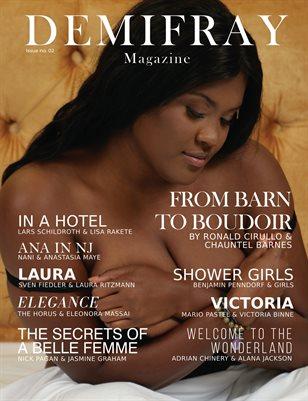 DEMIFRAY Magazine Boudoir & Sensual Issue #2