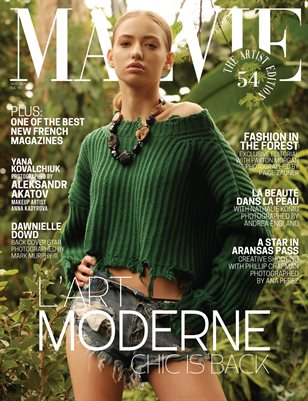 MALVIE Mag The Artist Edition Vol 54 November 2020