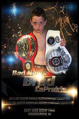 Brad LaPrairie Champ Poster
