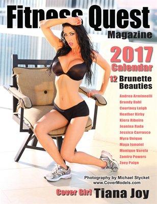 2017 Fitness Quest Calendar - Brunette Beauties