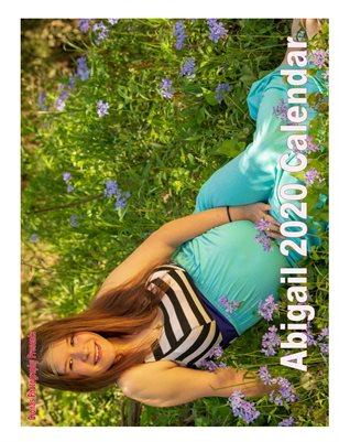 Abigail 2020 Calendar