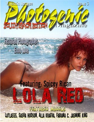 Photogenic Magazine issue 3 Lola Cover