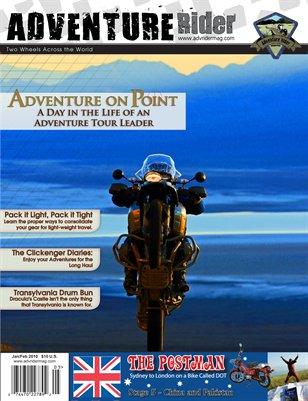 Adventure Rider Mag March-April 2011