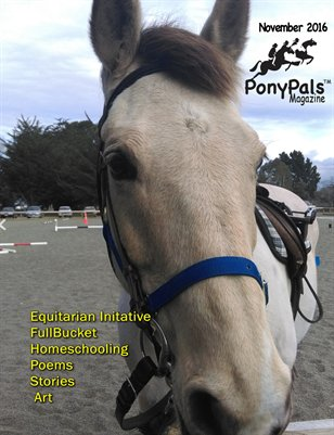 November 2016 Pony Pals Magazine -- Vol.6 #6