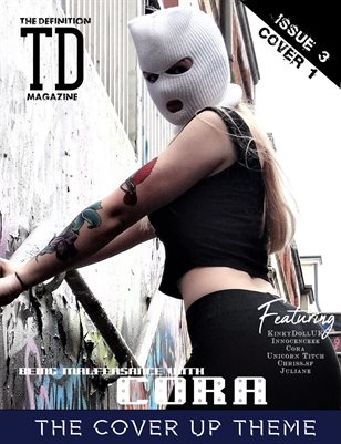 TDM:The Cover Up Cora Vol.3 Cover1