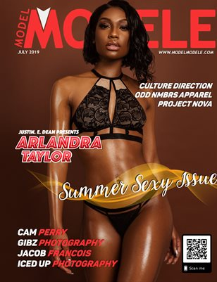 JULY 2019 - SUMMER SEXY ISSUE - ARLANDRA