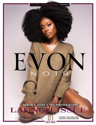 EVON NOIR Debut Issue