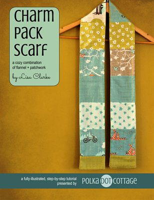 Charm Pack Scarf Sewing Tutorial