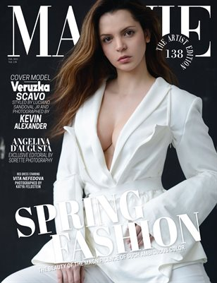 MALVIE Magazine The Artist Edition Vol 138 February 2021