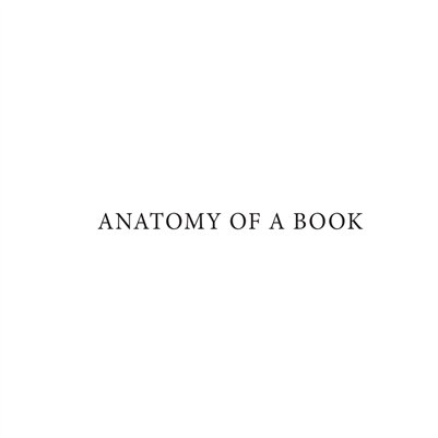 Anatomy of A Book