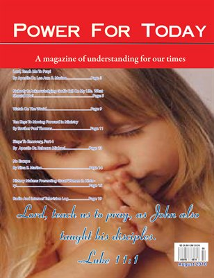 Power For Today Magazine, August 2010