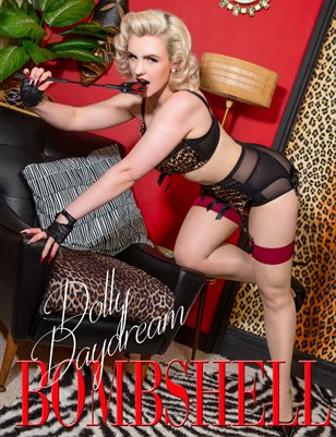 BOMBSHELL Magazine June 2019 BOOK 2 - Dolly Daydream Cover