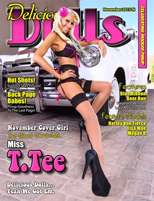 November 2015 Regular Issue - Miss T. Tee Cover