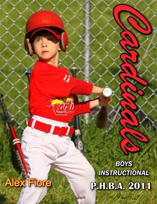 2011 P.H.B.A. Boys Instructional Cardinals 1