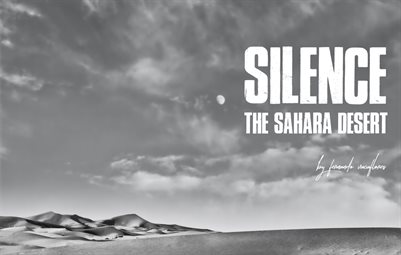 Silence_The Sahara desert