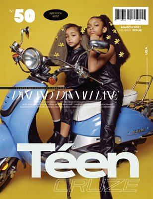 MARCH 2021 Issue (Vol: 50) | TÉENCRUZE Magazine