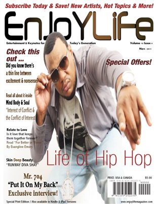Enjoy Life Magazine Vol. 10 Issue 4, MR. 704