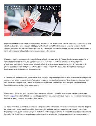 Dyman Associates insurance group - Conseils pour eviter l assurance voyage escroqueries