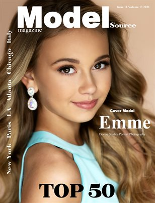 Model Source Magazine Issue 11 Volume 13 2021 August Face Top 50