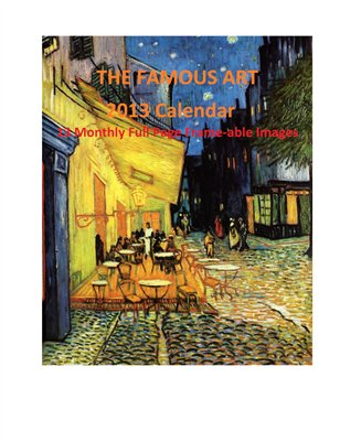 World Famous Fine Art-2013 Calendar