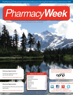 Pharmacy Week, Volume XXV - Issue 5 & 6 - January 31, 2016 - February 13, 2016