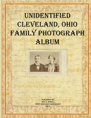 Unidentified Family Album From Cleveland, Ohio