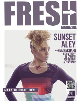 Fresh Mr Dreamz magazine Sunset Aley