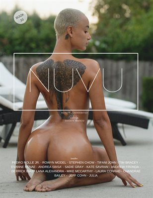 NUVU Magazine Book 33 ft. Shanty Franco