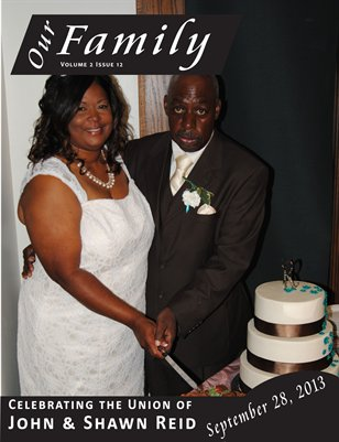 Volume 2 Issue 12 - John & Shawn Reid Wedding