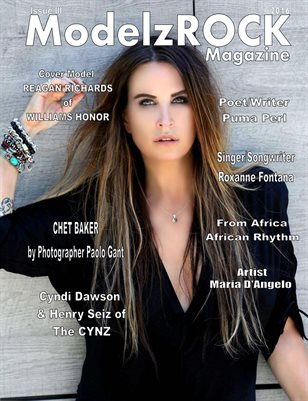 ModelzROCK Magazine 2016 Issue III COVER 2