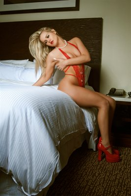 Courtney Coco Lingerie Red