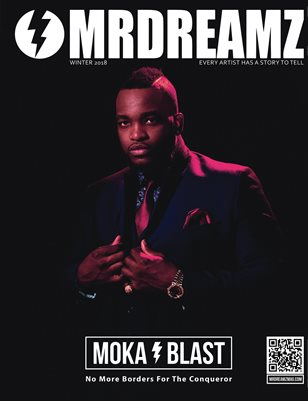 Mr Dreamz magazine 2018 Moka Blast