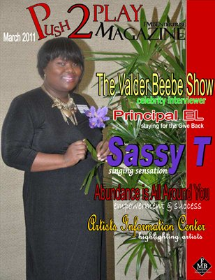 Push2Play Magazine with SASSY T - Featured Artist