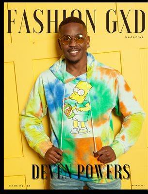 """Fashion Gxd Magazine """"Deven Powers"""""""