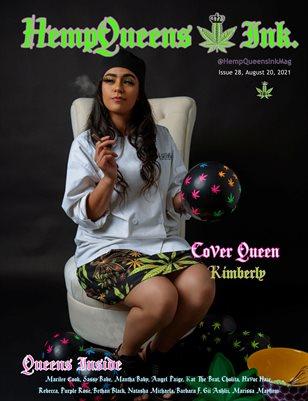 HempQueens Ink. Magazine ~ Issue 28 ~ Kimberly