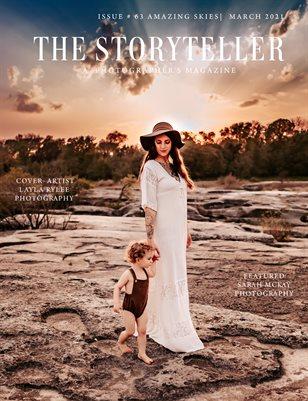 The Storyteller Magazine Issue # 63 AMAZING SKIES