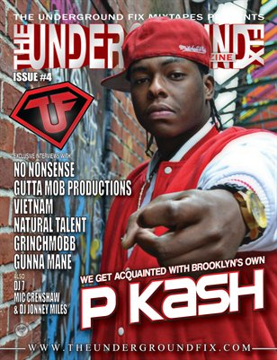 The Underground Fix Magazine Issue #4