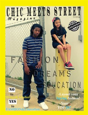 Chic Meets Street Magazine kids/teen Issue4
