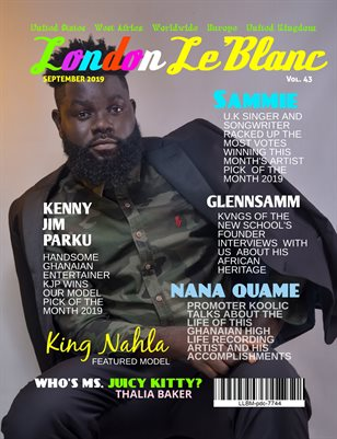 London Le'Blanc Magazine Vol. 43