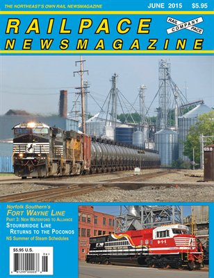 JUNE 2015 Railpace Newsmagazine